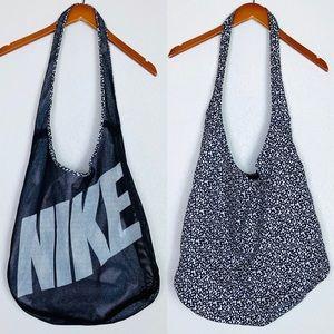 Nike Reversible Mesh Petal Print Shoulder Bag
